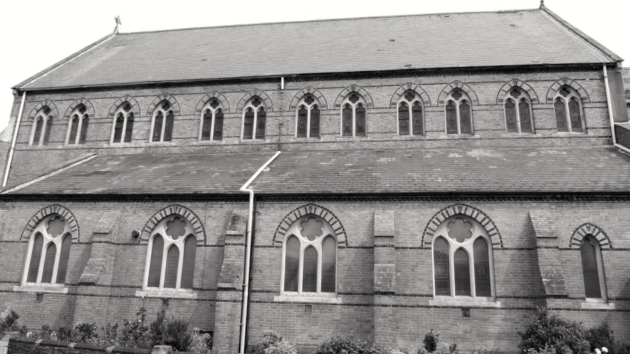 St Simons Church (South) Southsea 1864