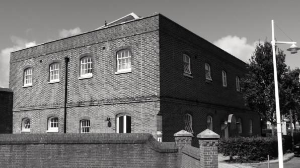 Infirmary House (South) Gunwharf Portsmouth 1814