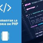 Cómo incrementar el límite de memoria de PHP
