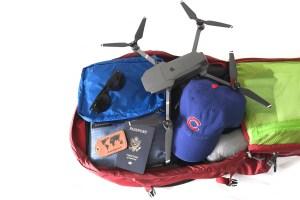 Dom's Backpack Inside