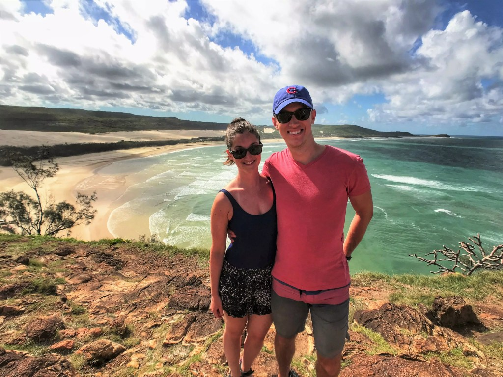 Indian Head Lookout on Fraser Island