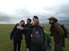 London NERC DTP fieldwork. Credit C Asher