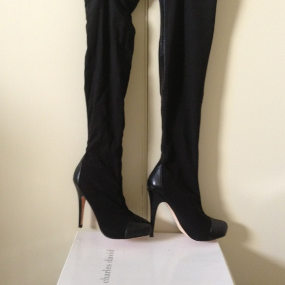46 Off Charles David Boots Charles David Pull On Over