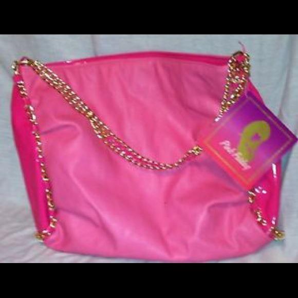 Handbags SALE New Nicki Minaj Pink Friday Tote Bag Purse