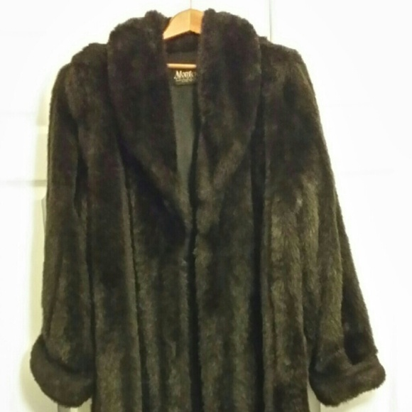 Jackets   Coats   Monterey Fashions Faux Fur Coat   Poshmark Monterey Fashions Faux Fur Coat