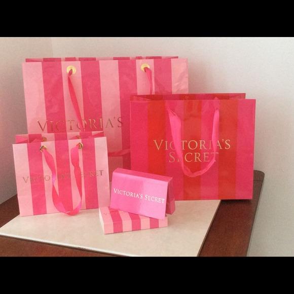 Victorias Secret Accessories Victorias Secret Gift Bags