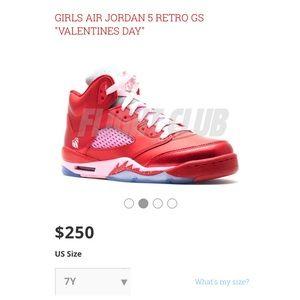 Jordan Air Jordan 6s Valentines Day Edition From Cams