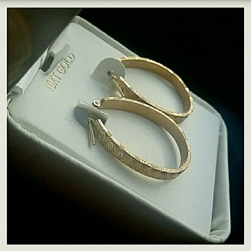 jcpenney Jewelry   Just In Nwt 10k Gold Hoop Earrings Msrp 425      Just in  NWT 10K Gold Hoop Earrings MSRP  425