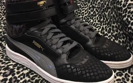 aa575680e Puma Shoes Sky Ii Hi Rare Animal Print Sz 8 Mint Poshmark