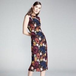 0e5bb763cb Alice Olivia Dresses Nat Embroidered Floral Sleeveless Dress