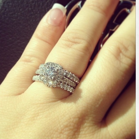 neil lane wedding bands and engagement ring