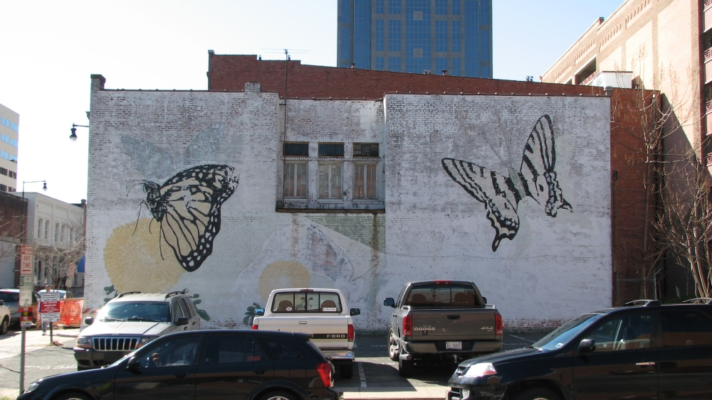 Murals In Downtown The Raleigh Connoisseur