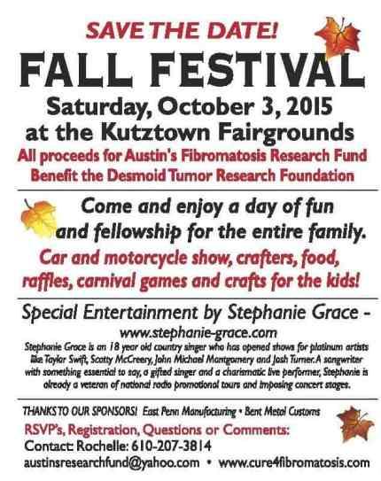 Fall Festival details