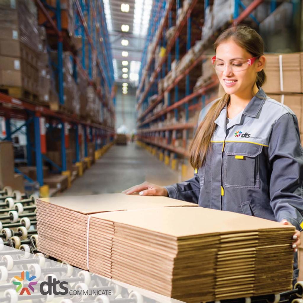 New Fulfilment Page Warehouse Worker DTS SENSES SENSES DIRECT mailhouse direct mail mailing fulfillment fulfilment post Australia sydney dm 3PL Pick Pack storage