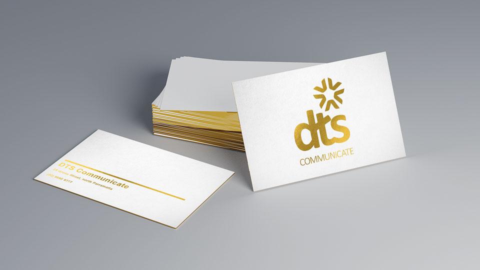 Metallic Gold Thumbnail DTS Digital Print Document Print Gold Print Sydney Australia Flysheet Business Cards