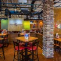 The interior architecture photography of Chilis in Grapevine Mills Mall