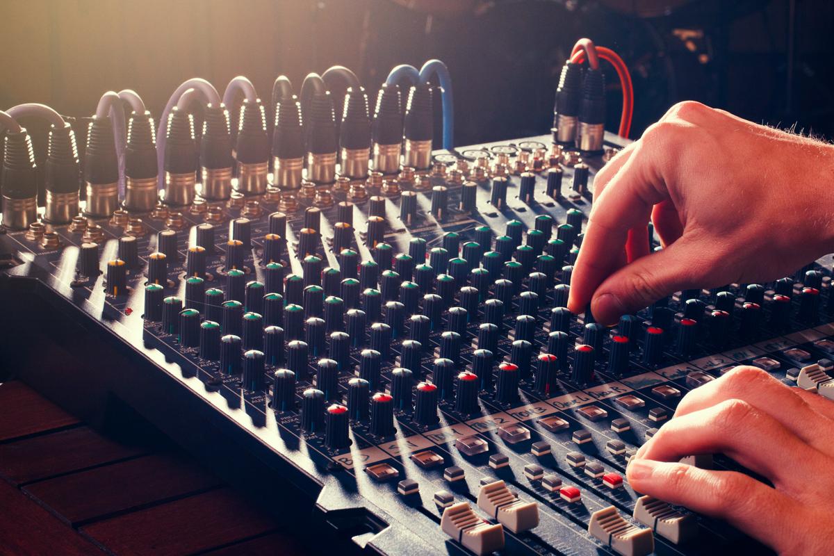 live audio mixing dallas