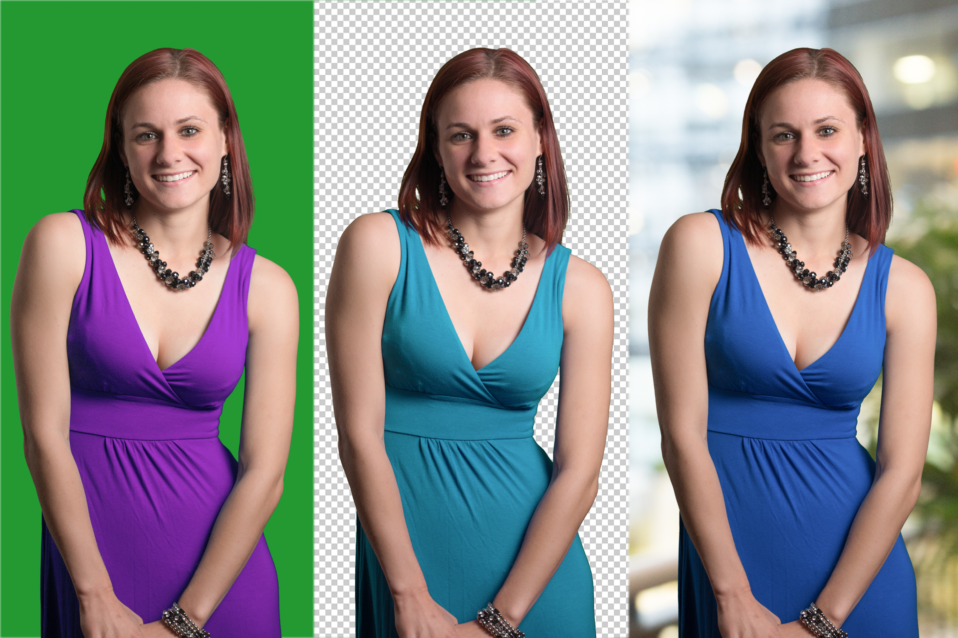 Fashion Product Photography Editing three dresses 1