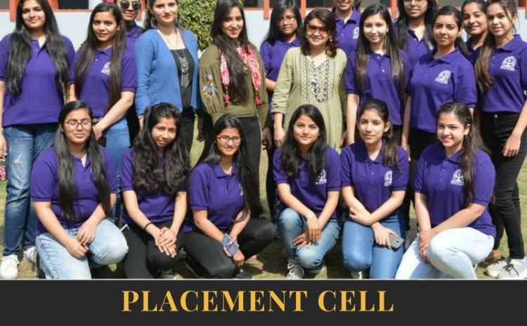 PLACEMENT CELL – JDMC