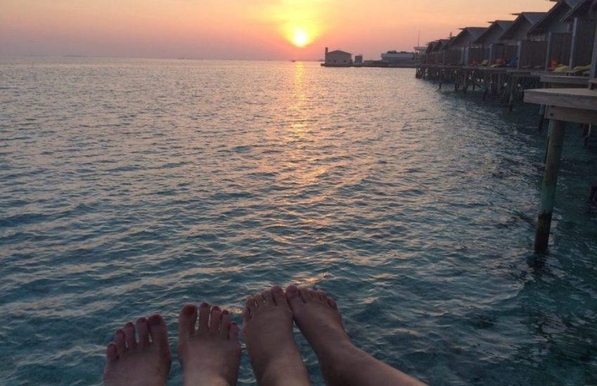 Ngắm hoàng hôn trên đảo Hòn Thơm Phú Quốc Kiên Giang