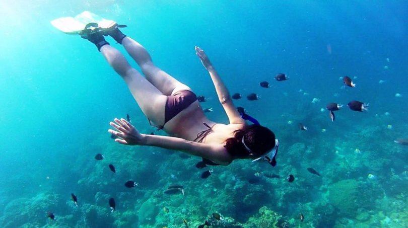 Gí vé lặn biển Phú Quốc hết bao nhiêu tiền