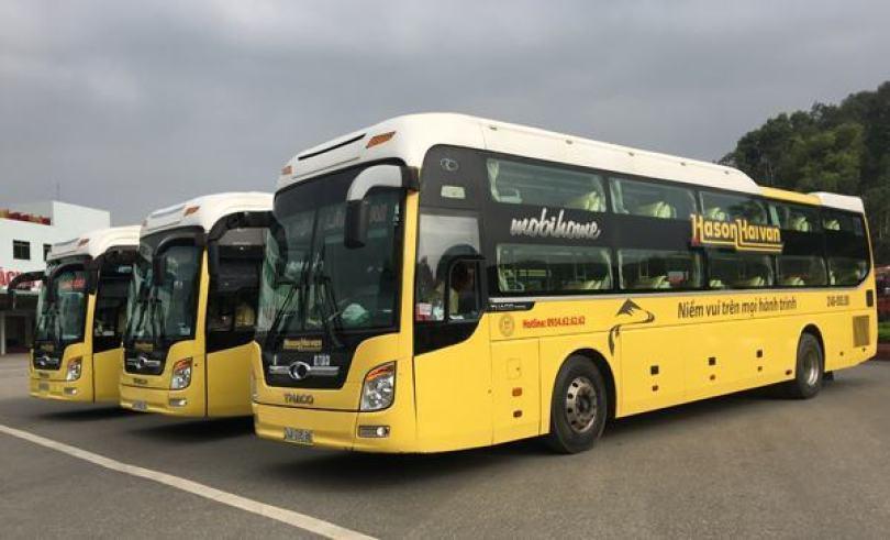 Xe buýt Hà Nội Sapa Hải Vân Hà Sơn