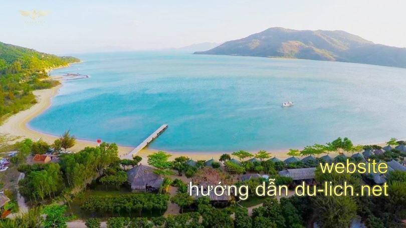 Hình ảnh đảo Hoa Lan ở Nha Trang
