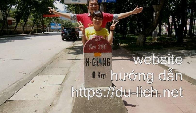 Hình ảnh cột mốc số 0 cũ ở Hà Giang