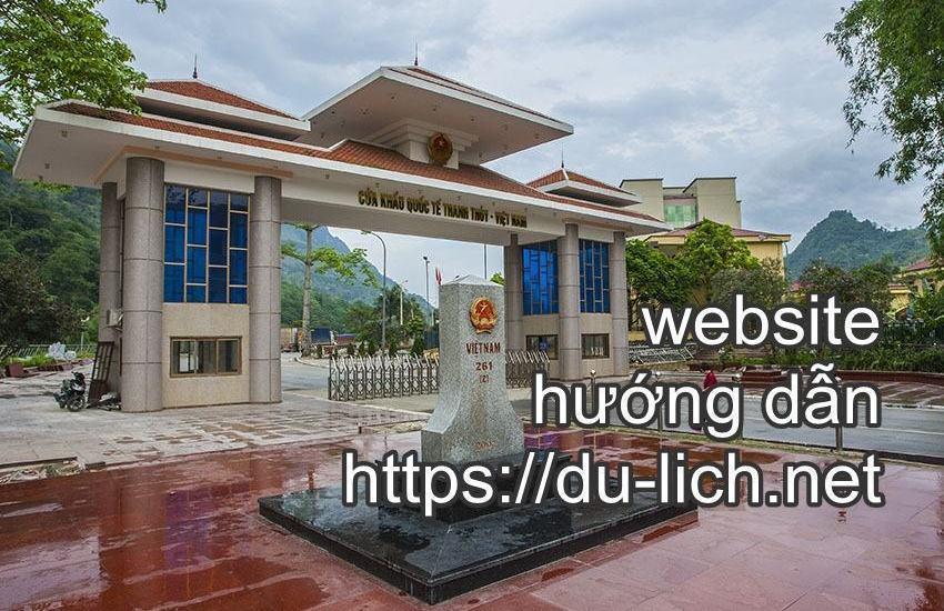 Hình ảnh cửa khẩu Thanh Thủy Hà Giang