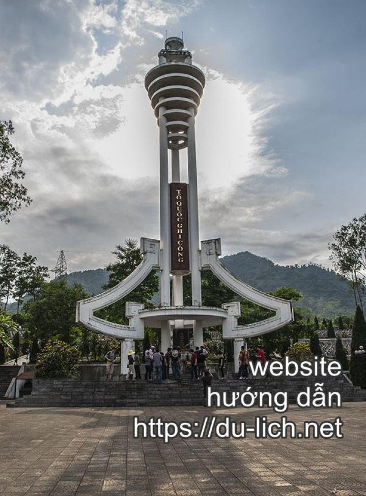 Hình ảnh nghĩa trang liệt sỹ Vỵ Xuyên Hà Giang