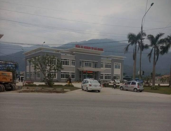 Hình ảnh bến xe Hà Giang mới