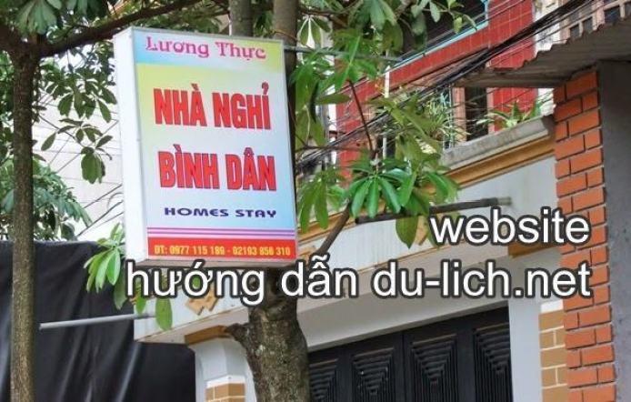 Homestay Lương Thực ở Đồng Văn giống nhà nghỉ