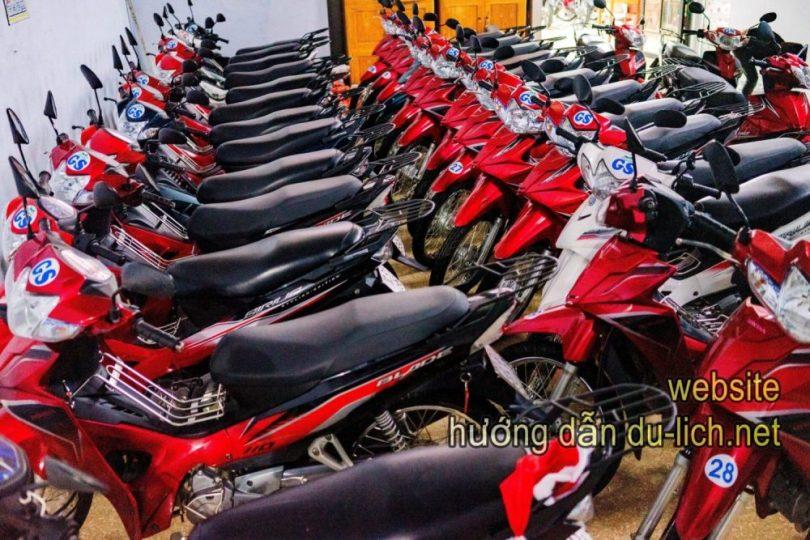 Vợ chồng Giang Sơn mua thêm hàng trăm xe máy để phục vụ các bạn trẻ đi du lịch bụi Hà Giang