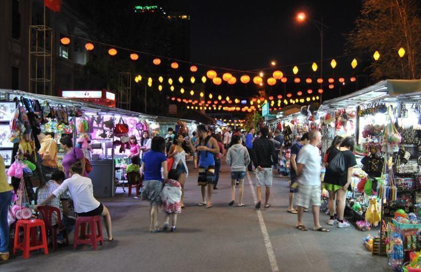 Hình ảnh chợ đêm Nha Trang