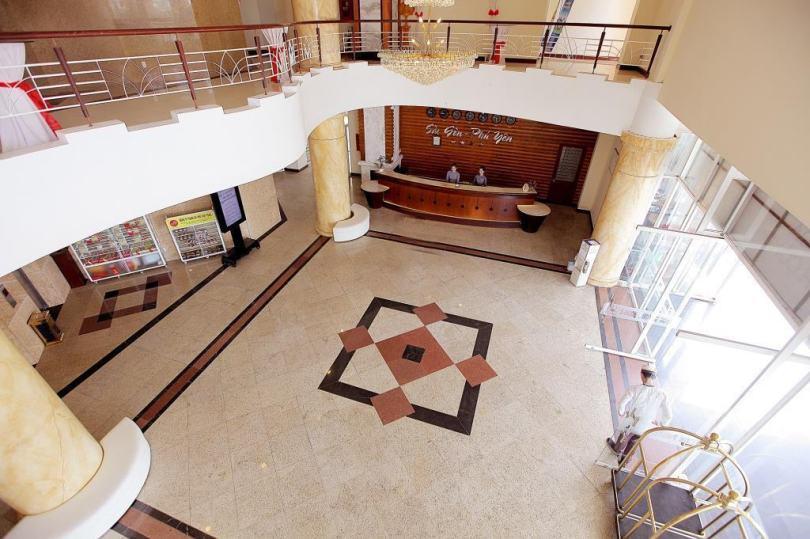 Hình ảnh khách sạn gần biển Tuy Hòa: sảnh của khách sạn 3 sao Sài Gòn Phú Yên