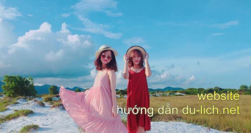 Hing anh dong song doi bo cat trang Quan Lan (5)