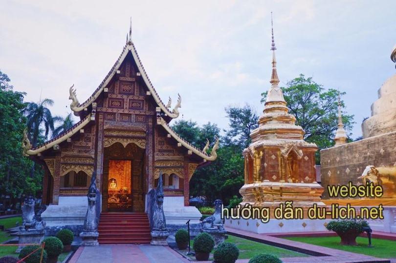 Hình ảnh chùa Wat U Mong - Review Chiang Mai Thailand