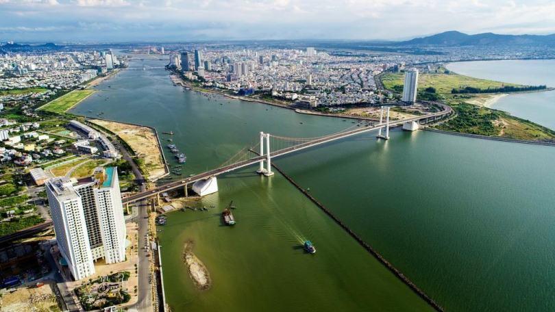 Cây cầu Thuận Phước - 1 trong những cầu đẹp ở sông Hàn