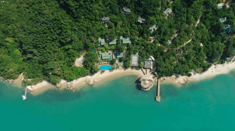 Nên đặt resort nào khi đi du lịch Nha Trang? Trong ảnh là An Lam Retreats Ninh Van Bay. Photo theo agoda + booking