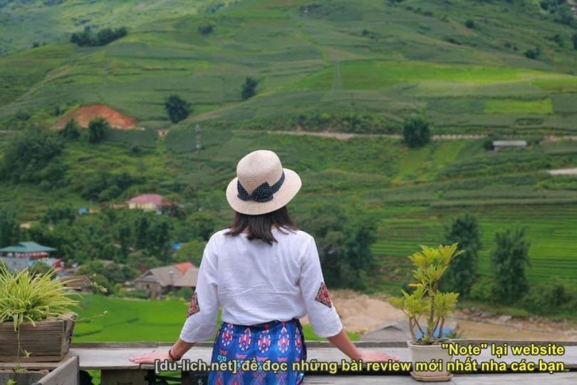 Check in Tả Van Sapa - đi loanh quanh ngắm bản làng, phong cảnh đẹp