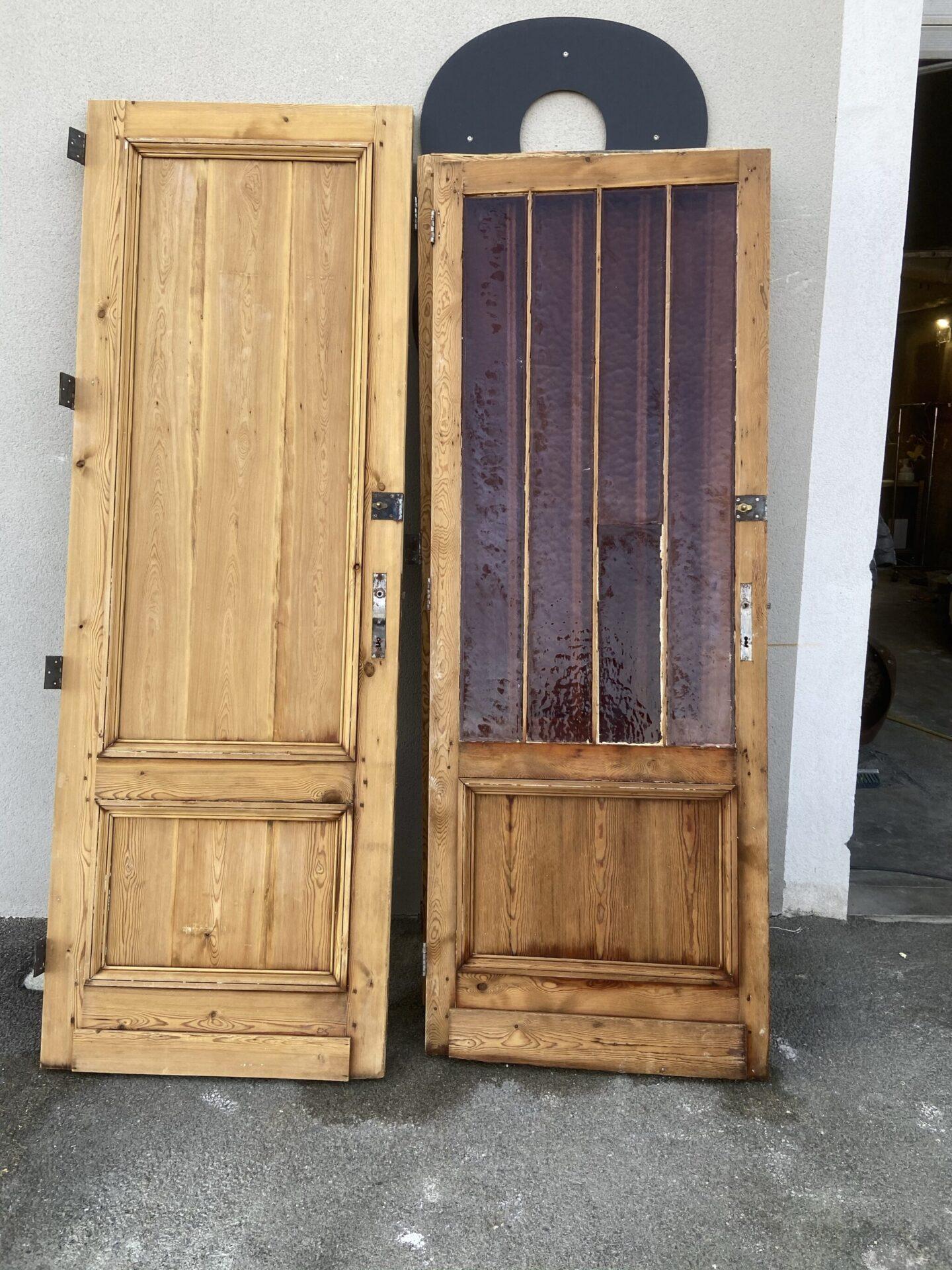 Décapage de porte intérieur