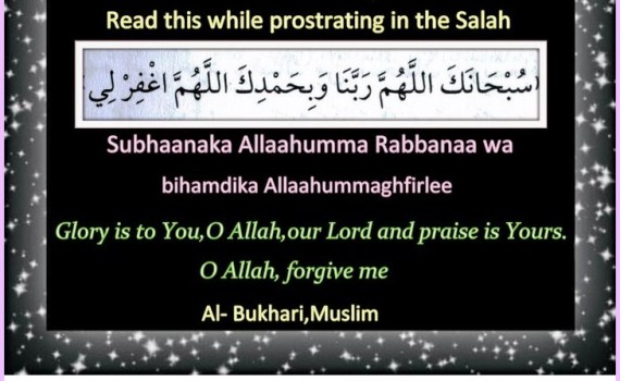 Du'as for the Sujood (Prostration) Archives - Islamic Du'as (Prayers