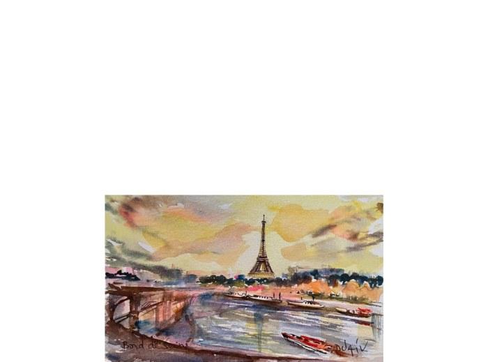 Bord De Seine 4.5'' x 7''