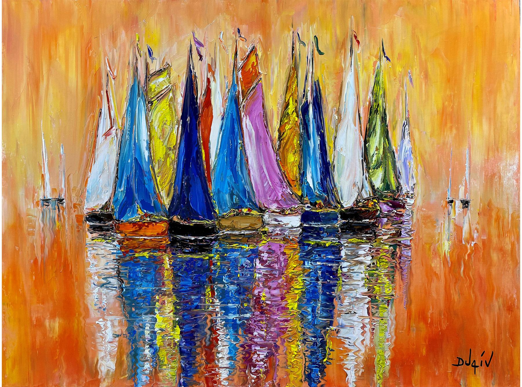 Fire Sails 30'' x 40''