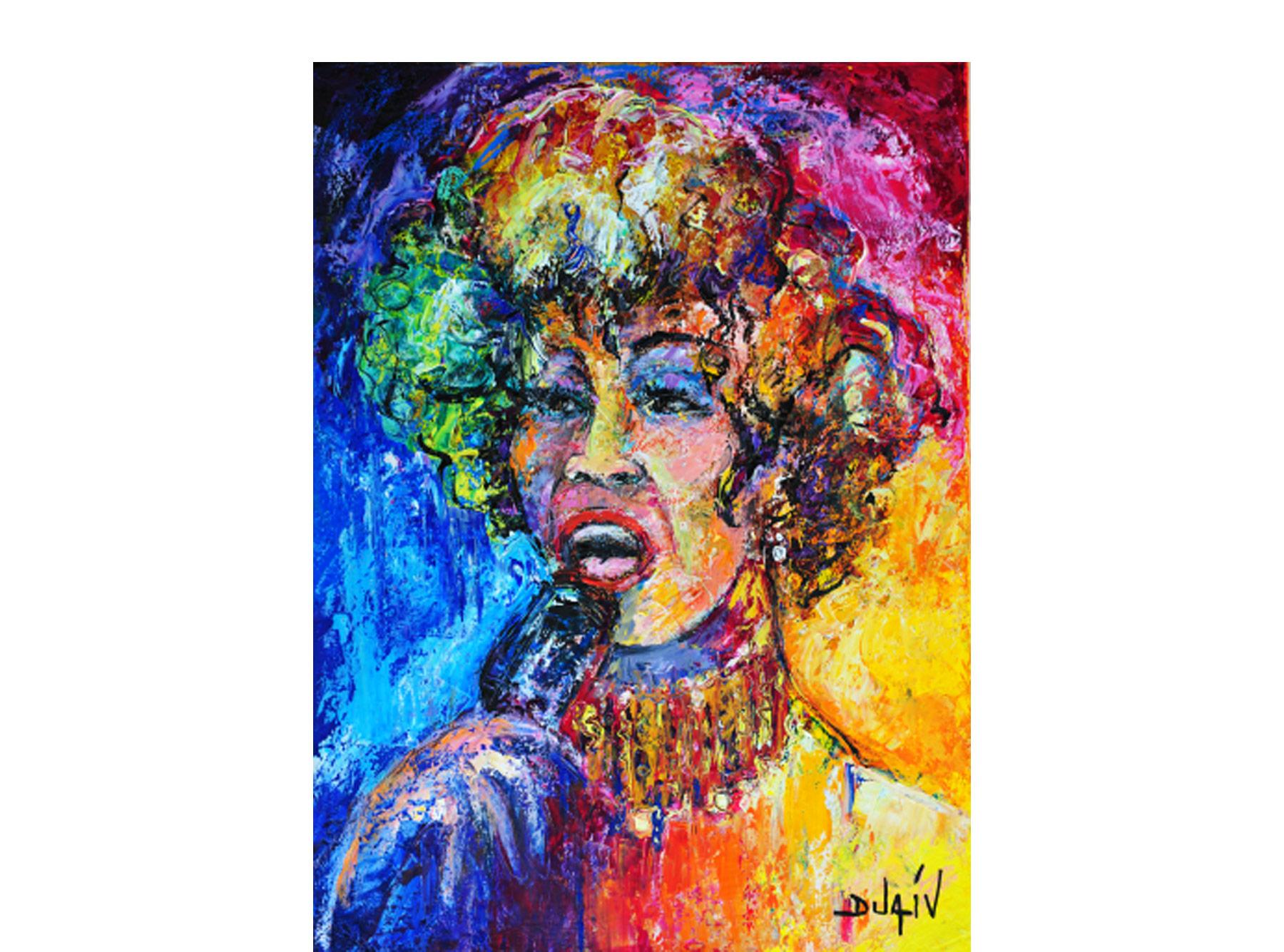 Whitney Houston 24'' x 18''