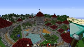 Minecraft Circle City - Shrine View