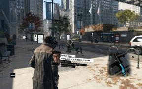 "WatchDogs Profile ""Frequent purchases: masks"""