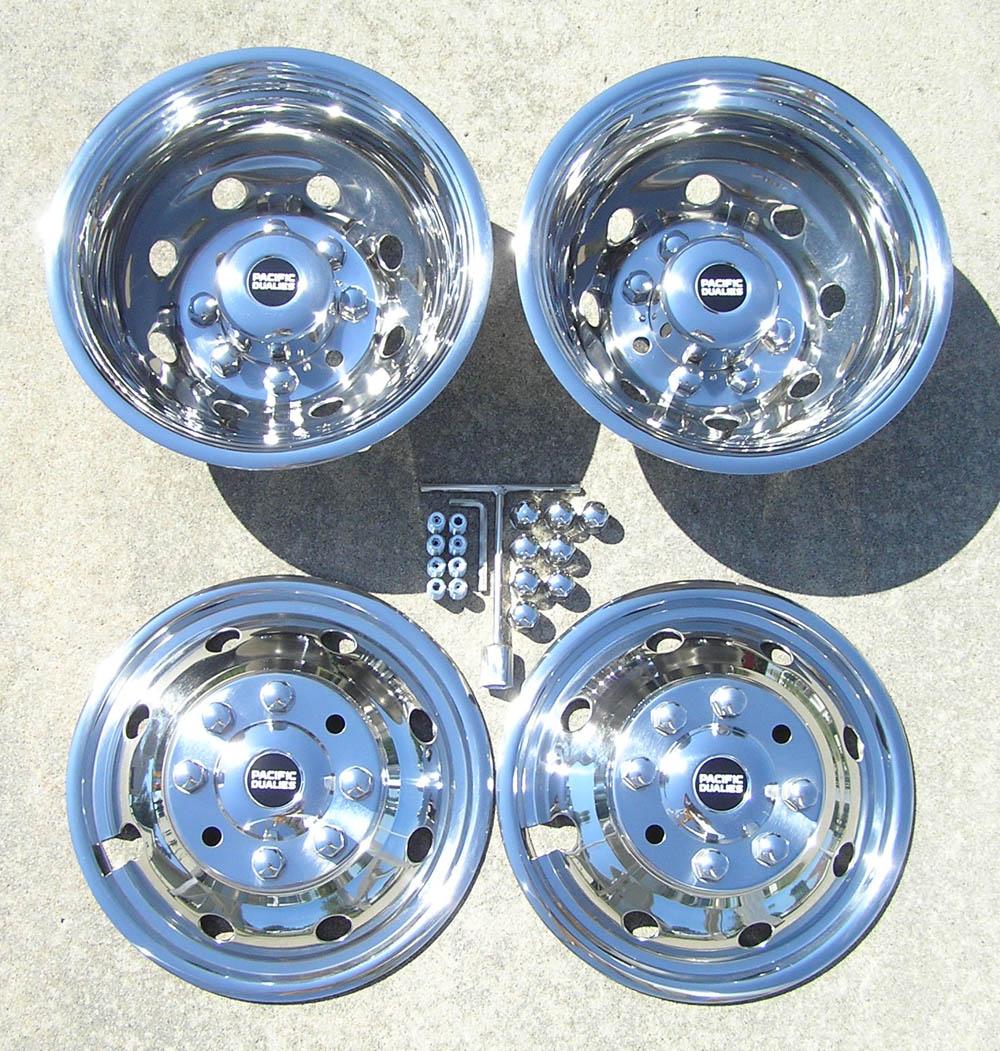 16 92 07 Ford E350 E450 Rv Motorhome Dually Wheel