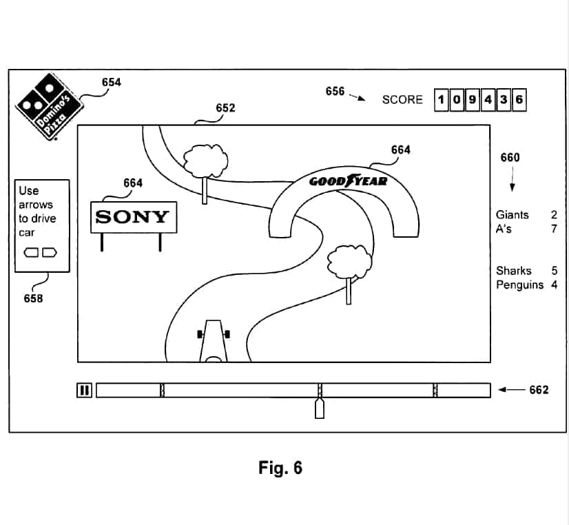Sceas Ps4 Patent Shows New Form Of Advertising
