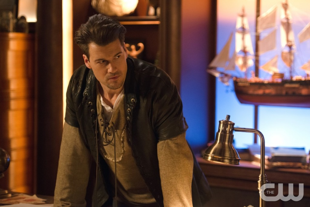 """DC's Legends of Tomorrow --""""Camelot/3000""""-- LGN212a_0106.jpg -- Pictured: Nick Zano as Nate Heywood/Steel -- Photo: Diyah Pera/The CW -- © 2017 The CW Network, LLC. All Rights Reserved"""
